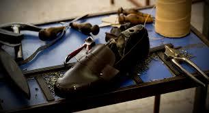 El proceso para fabricar calzado