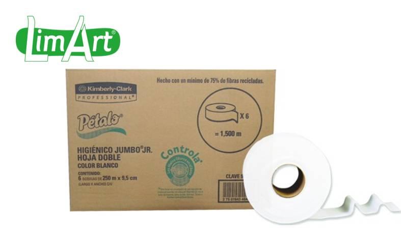 Higiénico Pétalo Jumbo Jr Industrial FED´S S.A. de C.V.